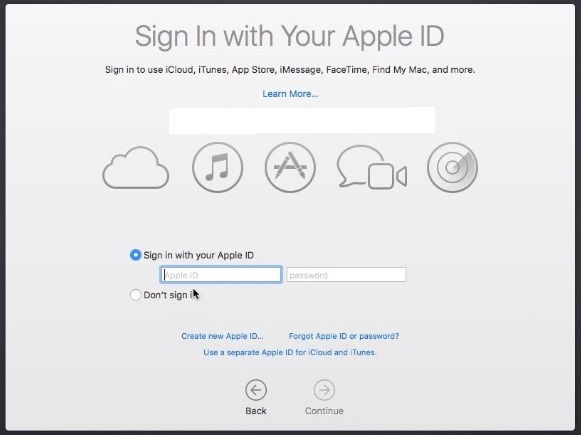 GarageBand For Windows Sign In With Your Apple ID