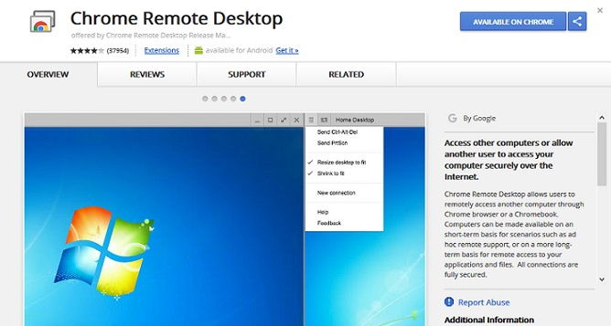 iMessage For PC Chrome Remote Desktop