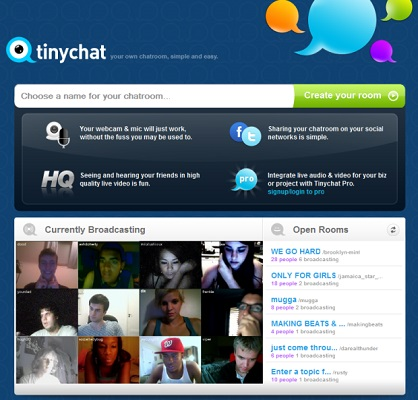 TinyChat - Top Sites Like Omegle - TechTade