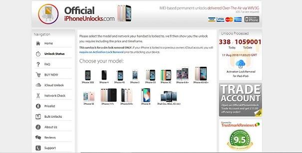 OfficialiPhoneUnlocks.com - Unlock - iCloud Bypass Tool