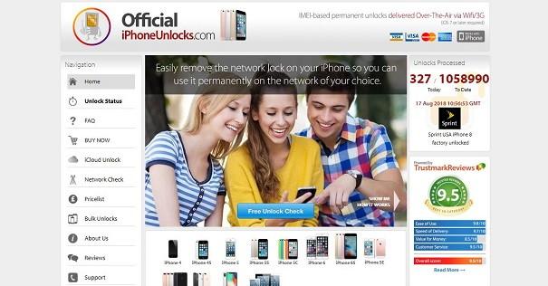 OfficialiPhoneUnlocks.com - iCloud Bypass Tool