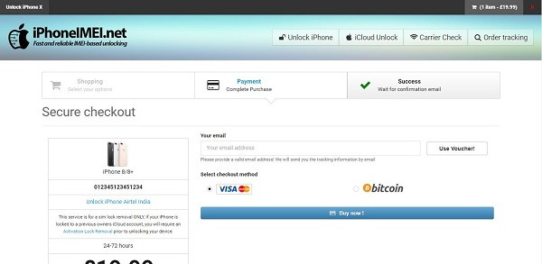 iPhoneIMEI.net Buy Now iCloud Bypass Tool
