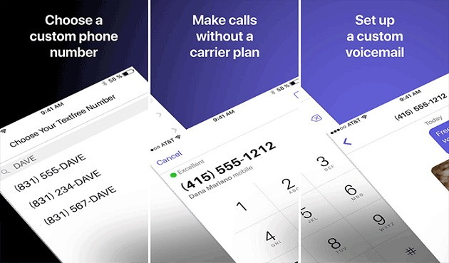 Pinger Textfree Voicemail Apps