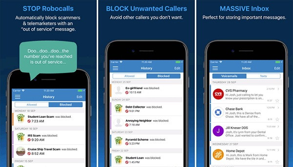 YouMail - Send and Receive Voicemails on iPhone