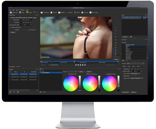 ShotCut - Free Video Editing Software