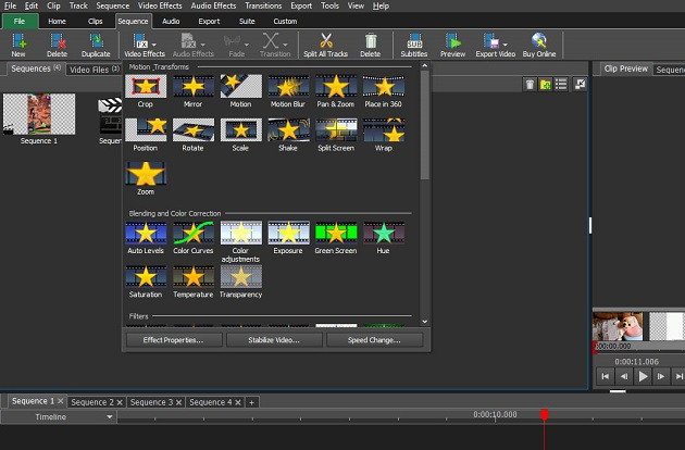 VideoPad - Top 8 Free Video Editing Softwares With Pros and Cons