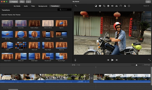 iMovie - Video Editing Softwares