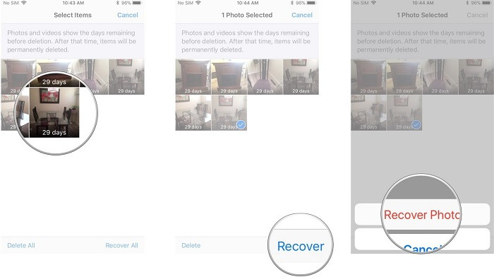 recover deleted photos on iphone