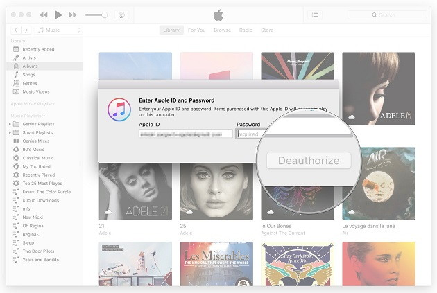Deauthorise Your Account on iTunes for Mac -TechTade