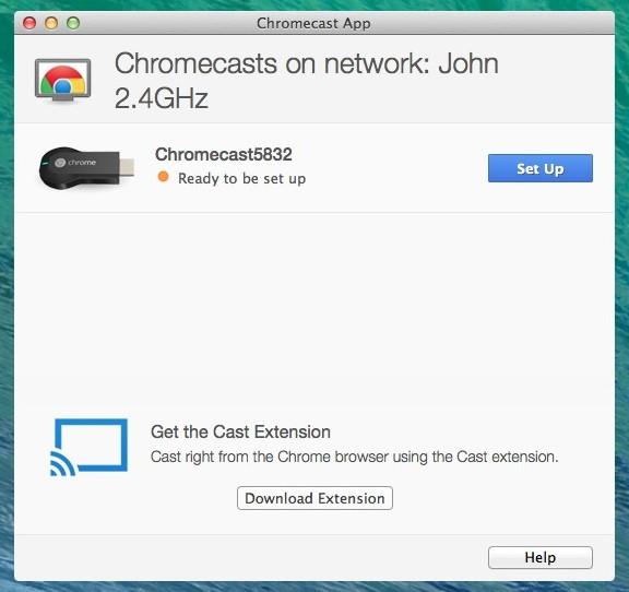Setting up the Chromecast on Mac - TechTade