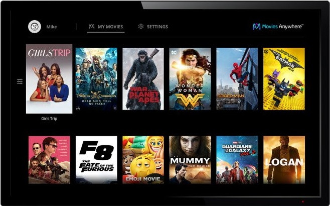 Best Apple TV Apps - Movies Anywhere