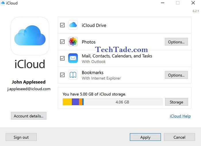 iCloud for Windows: How To Set Up iCloud for Windows 10/8/7 - TechTade
