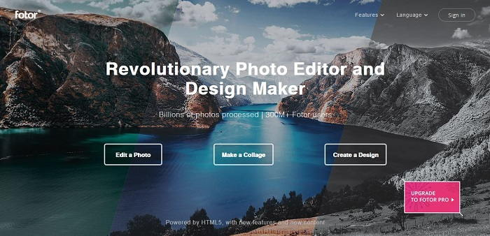 Fotor - Free Image Editor & Graphic Design Software