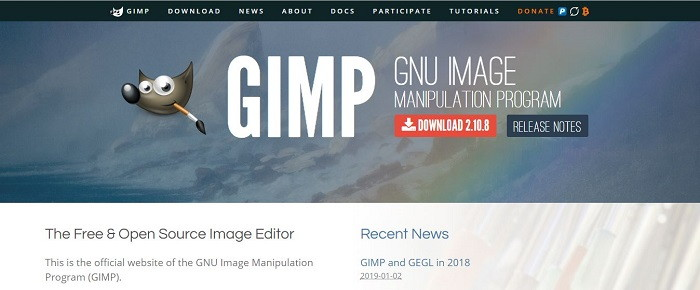 GIMP - Best Photo Editing Software and Apps