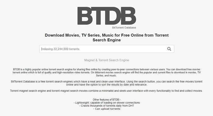 SkyTorrents.to - UTorrent Movies Download Sites