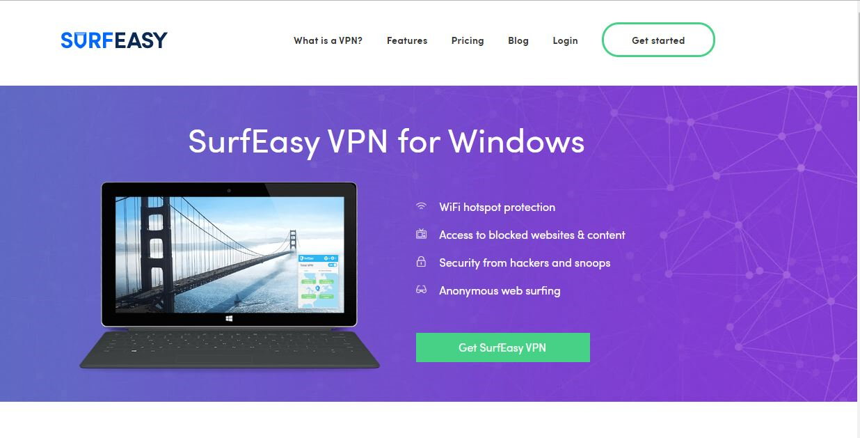 SurfEasy VPN - Best VPN on Mac