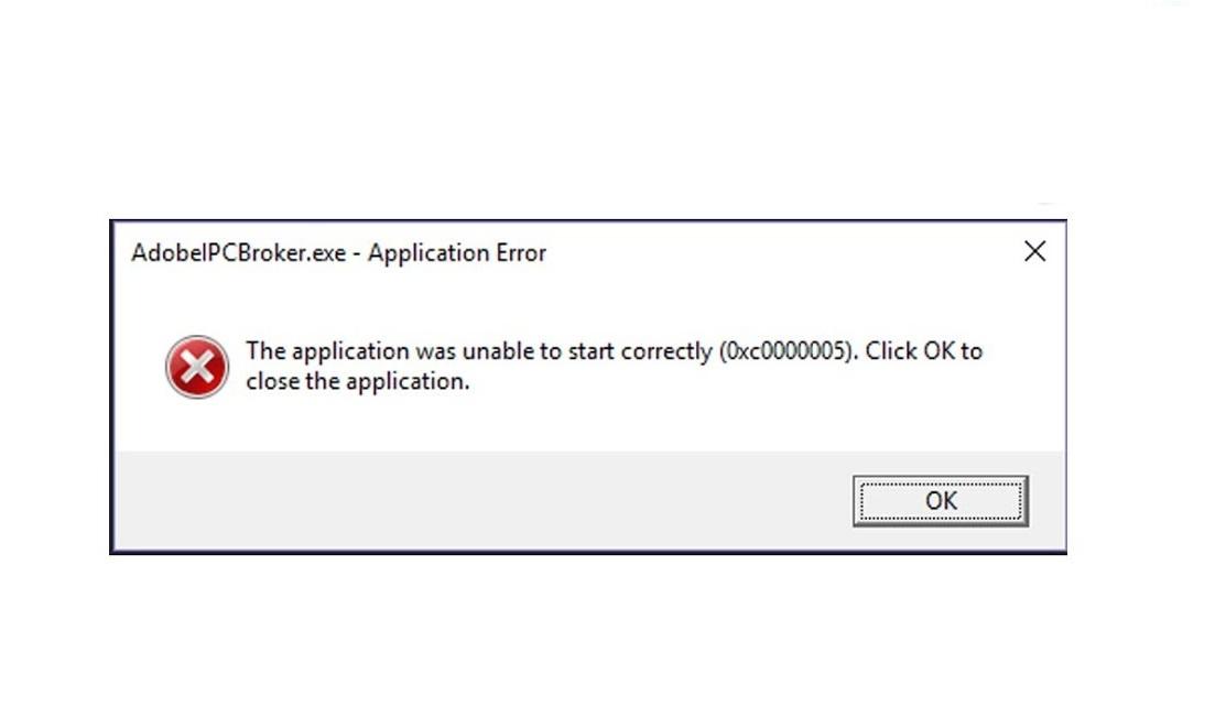 Application-Error-0xc0000005