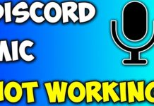 Discord Mic Not Working Error