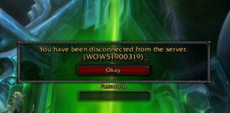 WOW51900319 Error in World of Warcraft