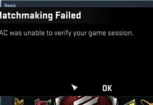 VAC Was Unable to Verify the Game Session in CSGO