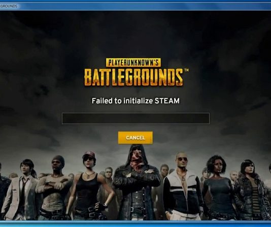 PUBG Failed to Initialize Steam Error