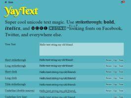 Yaytext - Best Vaporwave Text Generator