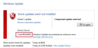 Update Failing With Error 0x8024200D in Windows 10