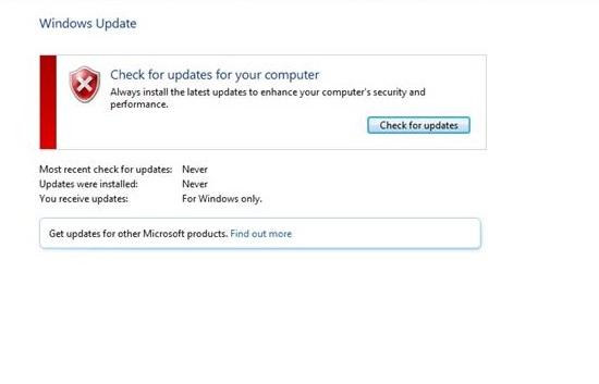 Windows Update Not Working Error in Windows 10