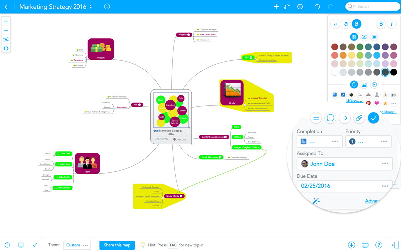 MindMeister - Best Mind Mapping Software