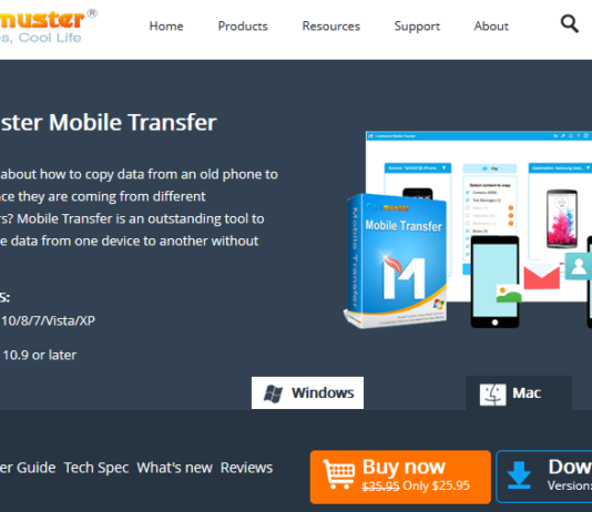 Coolmuster Mobile Transfer - Transfer All Data from Old to New Phone