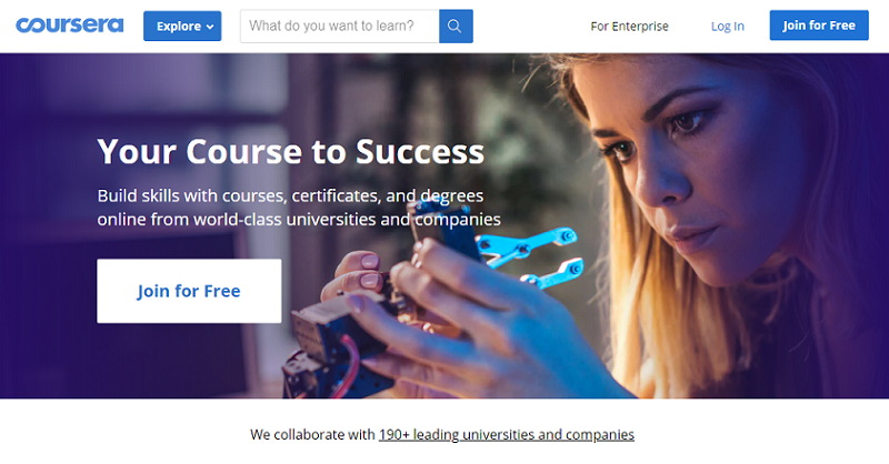 Coursera Best Online Student Sites, Apps and Tools