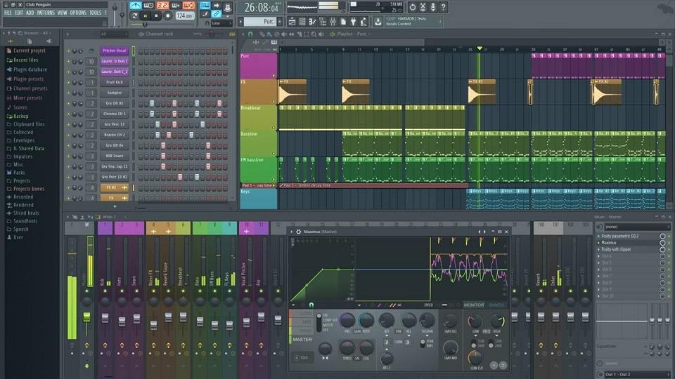 FL Studio Best Garageband Alternatives