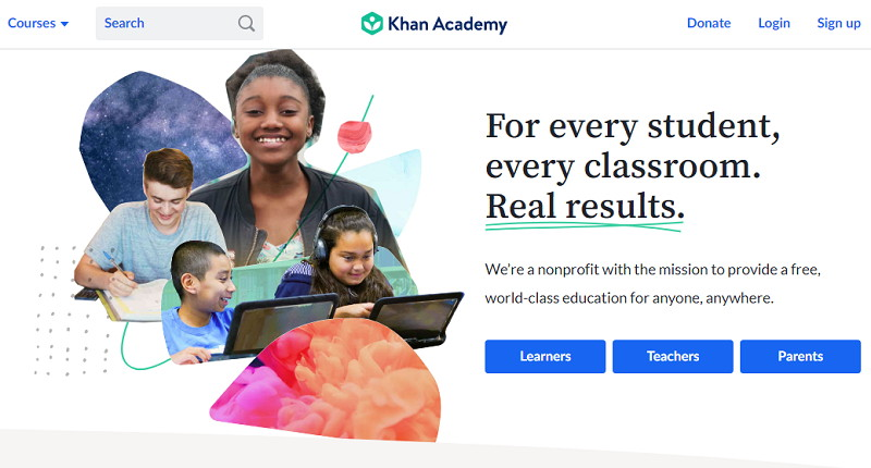 Khan Academy - Best Online Student Apps, Sites and Tools
