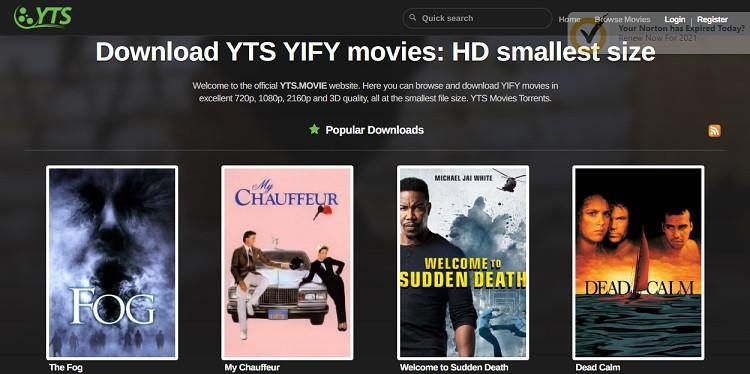 Sites Like YIFY