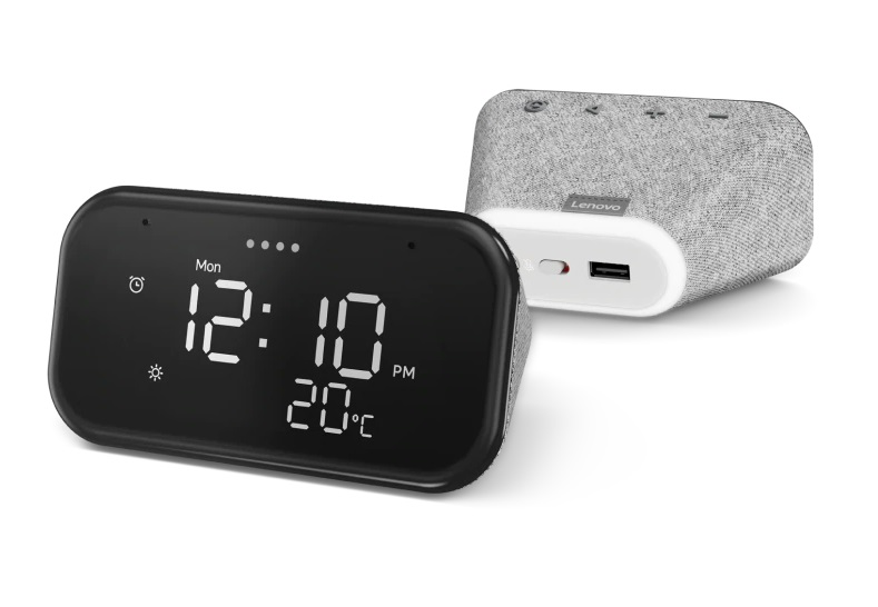 Lenovo Smart Clock Includes Wireless Charger